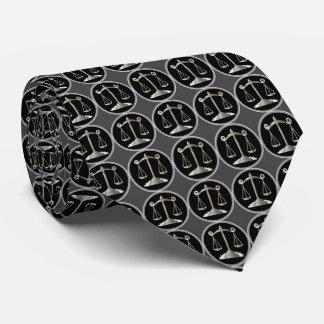 Escalas del abogado de la ley el | de la justicia corbata