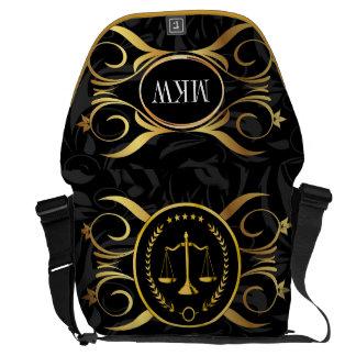 Escalas del bolso del carrito del abogado de la bolsa messenger
