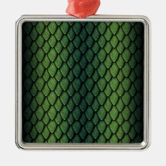 Escalas del dragón verde adorno
