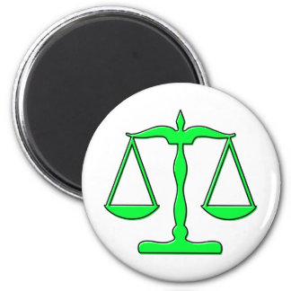 escalas del oddRex de la justicia Imán Redondo 5 Cm