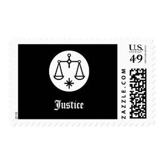 Escalas del sello de la justicia