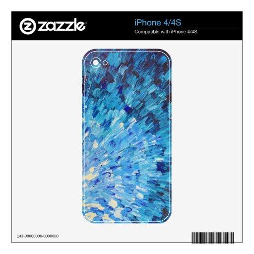 ESCALAS EN AÑIL - olas oceánicas imponentes del MA Calcomanías Para El iPhone 4S