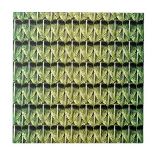 Escalas esmeralda azulejo cuadrado pequeño