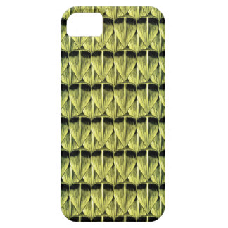 Escalas esmeralda funda para iPhone SE/5/5s
