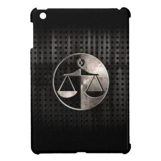 Escalas rugosas de la justicia iPad mini protectores