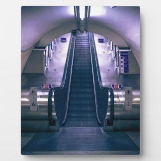 Escalator Plaque