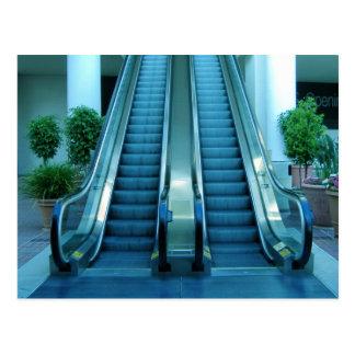escalator postcard