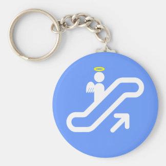 Escalator to Heaven! Keychain