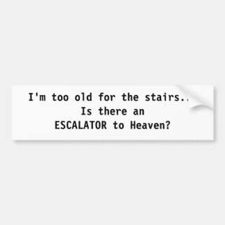Escalator to Heaven Sticker