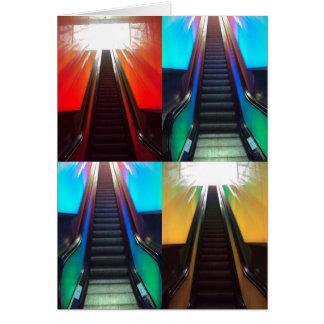 Escalators Card