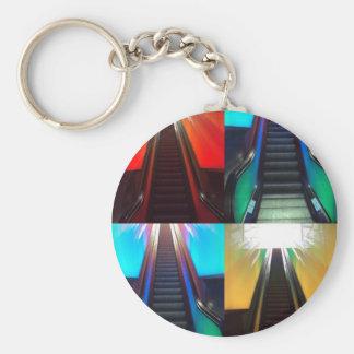 Escalators Keychain