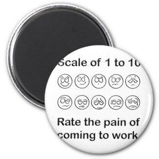 Escale el dolor imán redondo 5 cm
