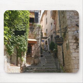 Escalera antigua tapetes de ratones