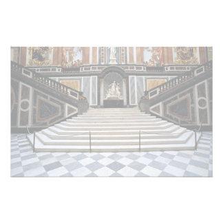 Escalera, castillo de Herrenchiemsea, Baviera, Ale Papelería De Diseño