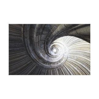 Escalera de caracol 螺旋式楼梯 Spiral staircase Impresión En Lona Estirada
