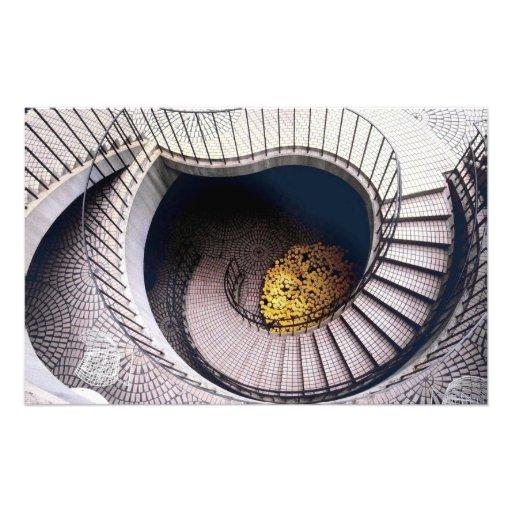 Escalera de Embarcadero Fotografia