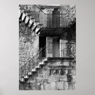 Escalera de Florencia Póster
