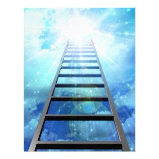 Escalera de la luz membretes personalizados