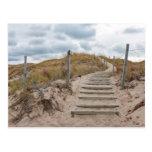 Escalera de las dunas tarjetas postales