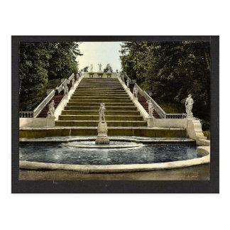 Escalera de oro de Peterhof clas de St Petersburg Postales
