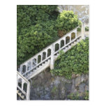 Escalera de piedra tarjeta postal