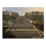 Escalera de Richelieu, Odessa, Rusia, (es decir, U Postales