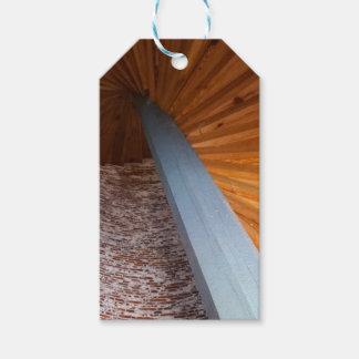 Escalera de Sapelo Etiquetas Para Regalos
