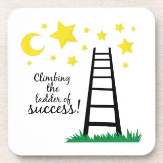 Escalera del éxito posavasos
