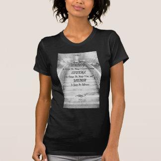 Escalera del REZO de la SERENIDAD al cielo Camisetas