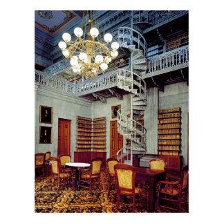 Escalera espiral, edificio del capitolio del postales