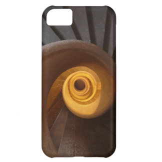 Escalera espiral vieja funda para iPhone 5C