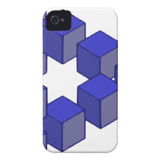 Escalera imposible de la ilusión óptica de los cua iPhone 4 cárcasa