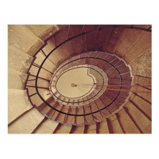 Escalera interior, 1560-61 postal