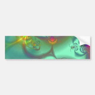 Escalera Jeweled - caleidoscopio esmeralda Pegatina Para Auto