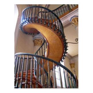 Escalera milagrosa, capilla Santa Fe de Loretto Postal