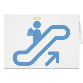 Escalera móvil, ninguna escalera tarjeta