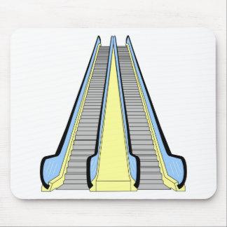 Escalera móvil tapete de ratón
