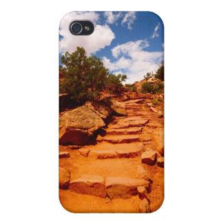 Escalera natural de Utah iPhone 4/4S Fundas
