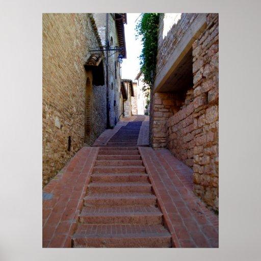 Escaleras de Assini Poster
