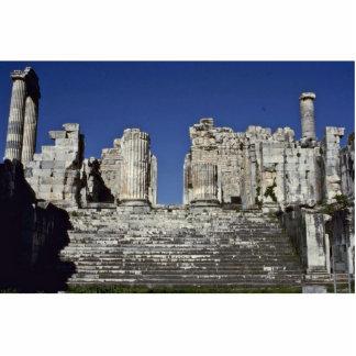 Escaleras de la arquitectura griega escultura fotográfica
