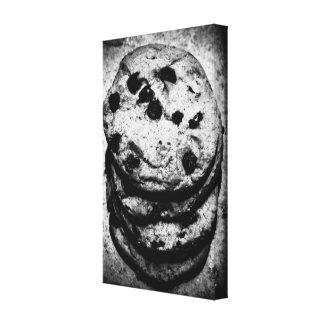 escaleras de la galleta impresión de lienzo