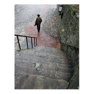 Escaleras de la sabana tarjeta postal
