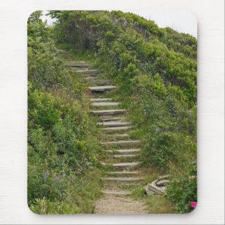 Escaleras de piedra Mousepad