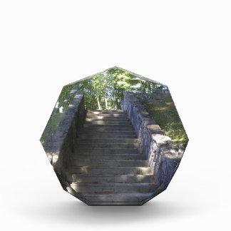 Escaleras de piedra viejas