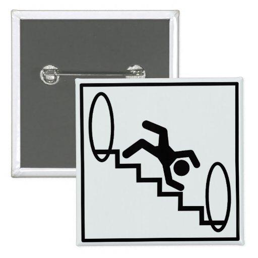 Escaleras de Stickman - peligro Pin