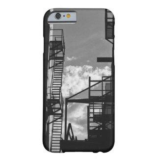 Escaleras del callejón de Denver Funda Para iPhone 6 Barely There
