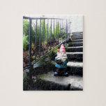 Escaleras del gnomo puzzle con fotos