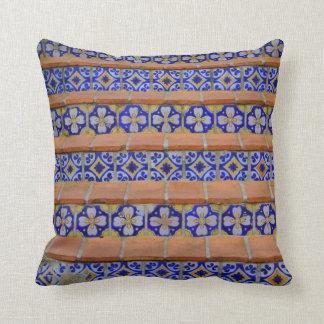 Escaleras del mosaico almohadas