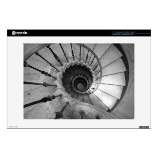 Escaleras espirales - piel del ordenador portátil portátil calcomanía