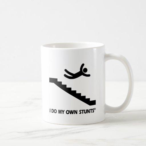 Escaleras mis propios trucos tazas de café